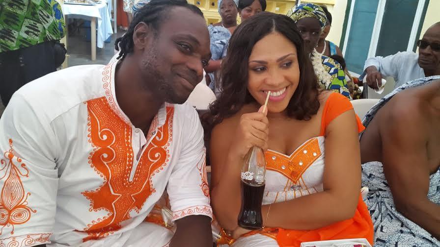 Footballer John Mensah Flaunts New Wife Photos