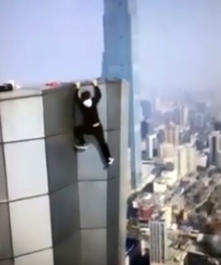 Wu Yonging Fall >> Chinese daredevil fall from 62 story building while performing stunt [Watch Video] | ANAPUAFM ...