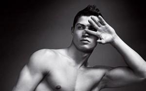 Cristiano Ronaldo uneiled as the new face of Giorgio Armani