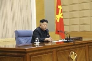 North Korea leader Kim Jong Un presides over a meeting of the Central Military Commission of the Workers' Party of Korea