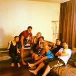 Brazilian International Hulk and family