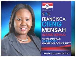 Miss Francisca Oteng-Mensah,